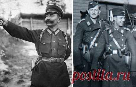 Почему советские офицеры носили пистолет справа на ремне, а немецкие - слева