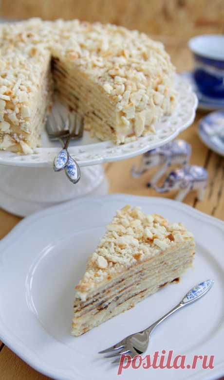 """29/52 Торт """"Минутка"""". Вспомним детство. Он же торт """"Светлана"""". Торт для тех, у кого нет духовки. Прямо скажем, отличный торт на вкус. Втроем мы его съели за 1,5 суток :)Состав без изысков, но результат…"""