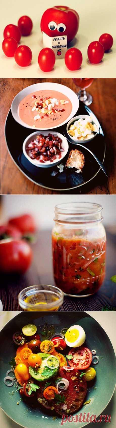 Что приготовить из помидоров? 7 рецептов вкусных блюд