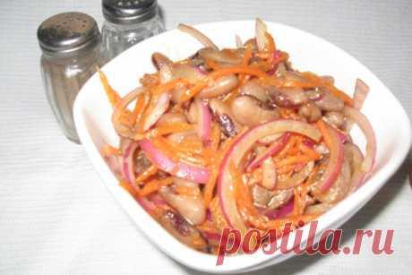 Фасоль по-корейски ⋆ Кулинарная страничка