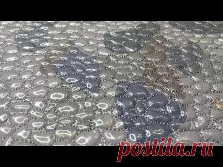 Заготовка из остатков от шитья с 3Д эффектом «морская галька»   Утилизируем обрезки https://www.youtube.com/playlist?list=PLq8OHzT1Nm8WUM-pweURU7nOydLO-SL1n