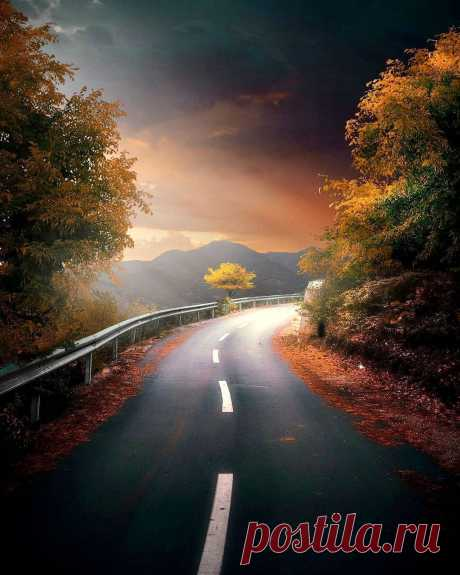 Темная осень 🍂🍁 🔮 Корэ, Албания