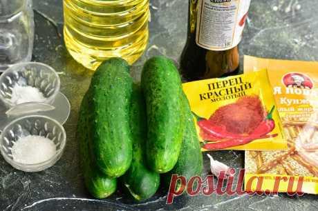 Битые огурцы по-китайски: рецепт с фото пошагово