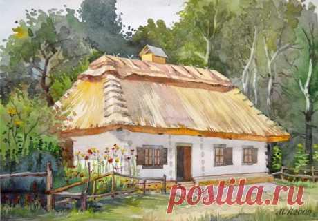 Ukraine Landscape   Ukrainian Landscapes (Watercolors) on Behance