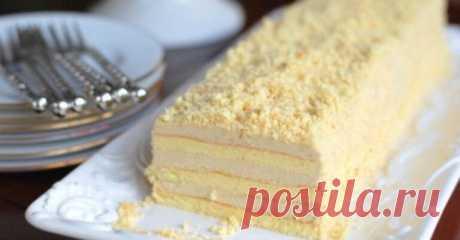 Рецепт прекрасного торта з незвичайним і смачним кремом