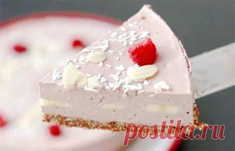 Диетический торт без выпечки