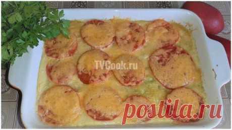 Овощная запеканка из кабачков с помидорами и сыром — рецепт - Виралайф - медиаплатформа МирТесен Сочная овощная запеканка из кабачков с помидорами под аппетитной сырной корочкой. Мое любимое блюдо в летний сезон. Ингредиенты кабачки 800 г.; помидоры 2 шт.; сыр твердый 150 г.; мука 100 г.; яйца 2 шт.; растительное масло 2 ст.л.; соль 1 ч.л. Приготовление: 1 Подробный видео-рецепт приготовления.