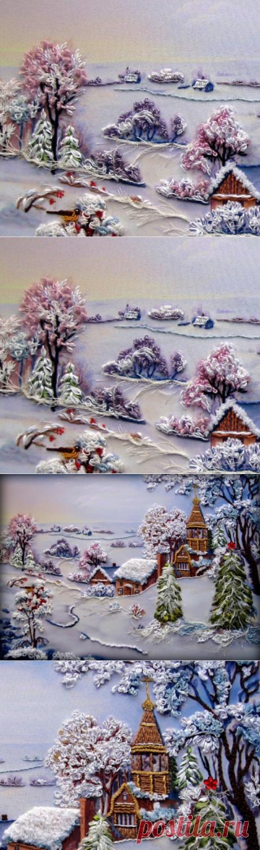 Зимняя объемная сюжетная вышивка: идеи для вдохновения Зимняя объемная сюжетная вышивка непередаваемо красива. Увидев ее один раз, забыть уже... Читай дальше на сайте. Жми подробнее ➡