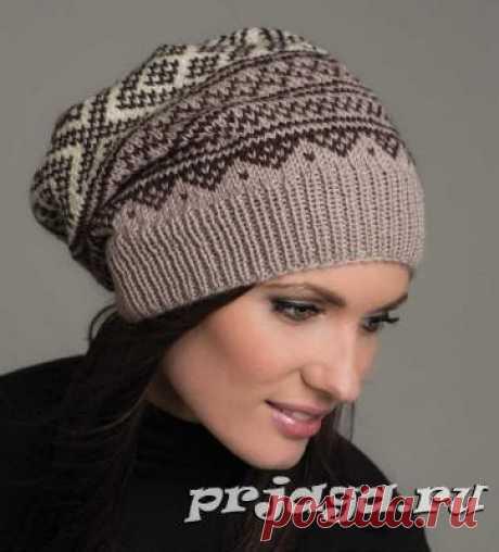 Женская шапка и берет спицами или крючком - Результаты из #10