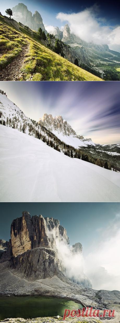 Южно-Тирольские Альпы - серия фантастических пейзажных фотографий — Путешествия