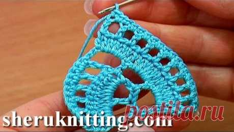 Stripy Lace to Crochet Tutorial 1 Part 1 of 2 Crochet Tape Lace