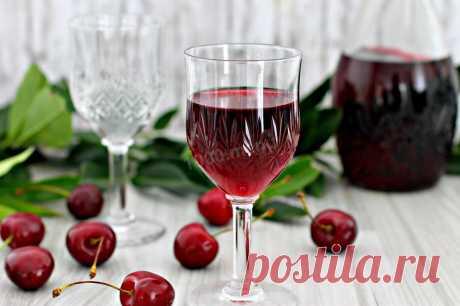 Вишневая наливка на водке рецепт с фото пошагово - 1000.menu