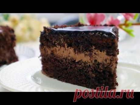 Божественно ВКУСНЫЙ Шоколадный  Торт/Очень Простой  Быстрый  и вкусный домашний торт