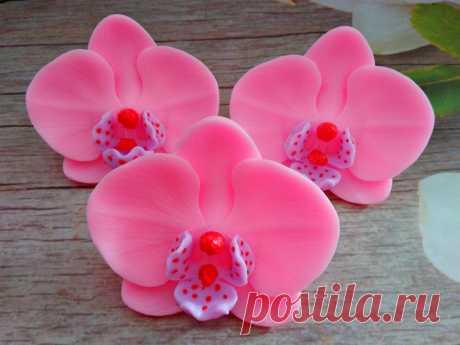 """Мыло """"Орхидея"""",прекрасное дополнение подарочного набора или мыльного букета) Цветовая гамма и аромат по выбору."""