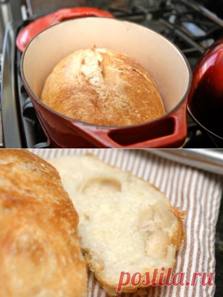 Хлеб без замеса Джима Лейхи (Jim Lahey's No-Knead Bread)