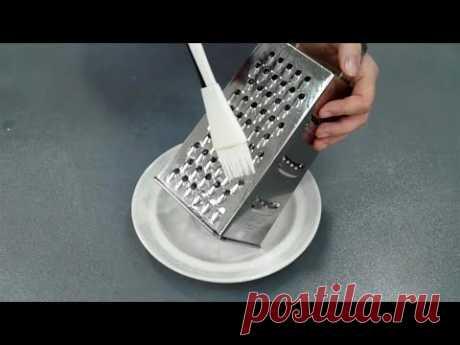 ЗАЧЕМ тысячи хозяек смазывают терку маслом перед использованием (простое решение вечной проблемы)