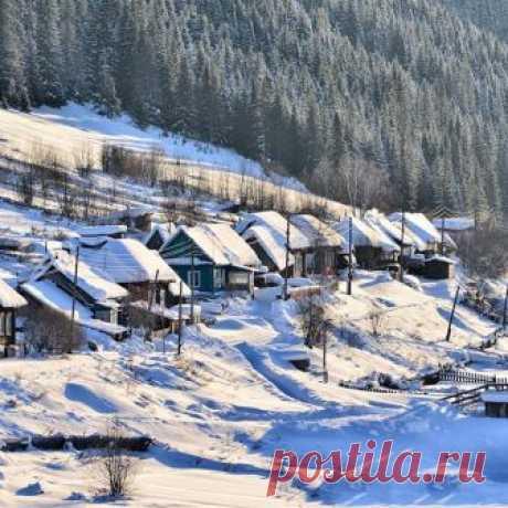 Деревня моя, деревянная дальняя... (Кусье-Александровский. Горнозаводский район. Пермский край)