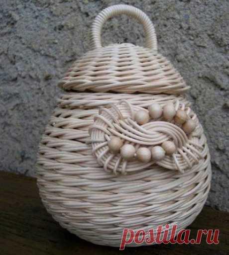😊Идеи для вдохновения. Плетение из газетных трубочек / Вязание как искусство!