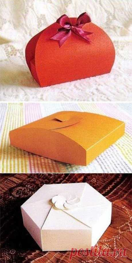 7 gift boxes with schemes of assembly - we Learn to Do All to Sami