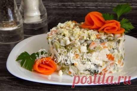 Салат Столичный - рецепт с фото