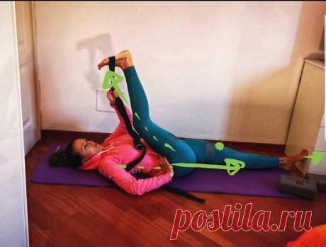Раскрытие тазобедренных суставов и растяжка в позах сидя и лёжа. | Йога для жизни. | Яндекс Дзен
