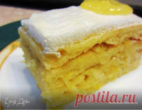 Лимонный пирог по рецепту мамы рецепт 👌 с фото пошаговый | Едим Дома кулинарные рецепты от Юлии Высоцкой