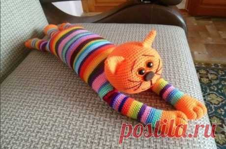 Игрушка кот Аминеко (Вязание крючком) – Журнал Вдохновение Рукодельницы
