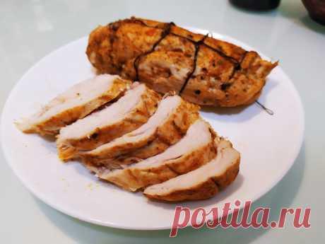 Колбаса из курицы в духовке: я научилась готовить пастрому, делюсь с рецептом | Ponchik_Life | Яндекс Дзен