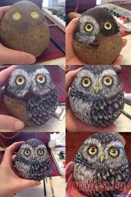 Рисование на камнях: мастер-класс