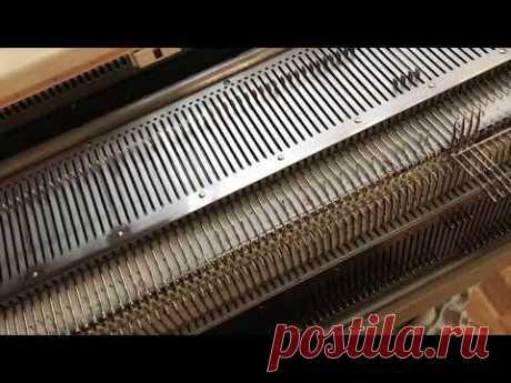 Частичное вязание и методика технологии на ластике