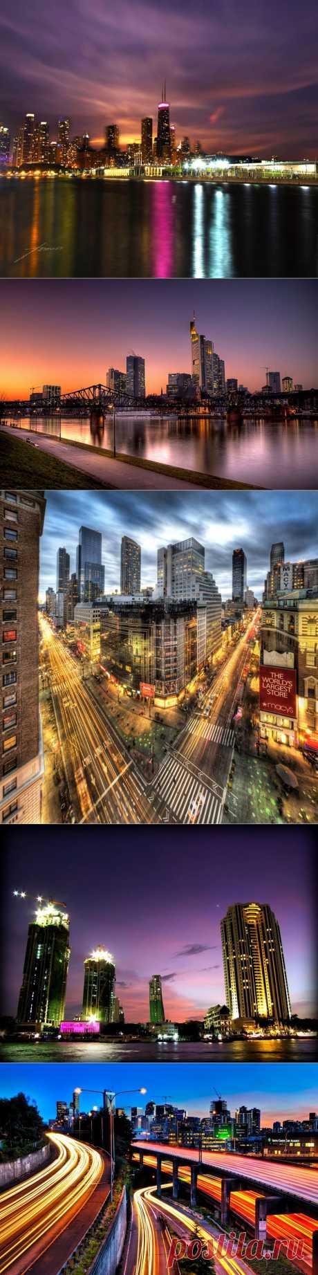 Потрясающие фотографии городских горизонтов | Newpix.ru - позитивный интернет-журнал