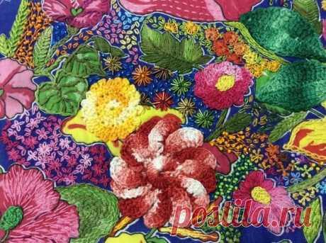 Бразильская вышивка «Chita bordada» | Создавай сам | Яндекс Дзен