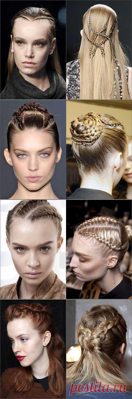 Плетём косы / Прически / Модный сайт о стильной переделке одежды и интерьера