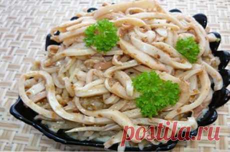 Салат из кальмаров — СОВЕТНИК