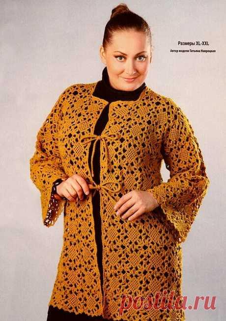 10 моделей для дам с пышными формами: вязание крючком | Левреткоман-оч.умелец | Яндекс Дзен