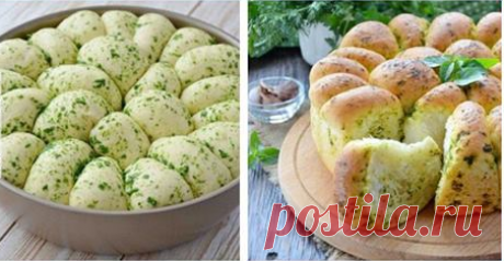 Домашний хлеб с чесноком Безумно вкусные булочки!