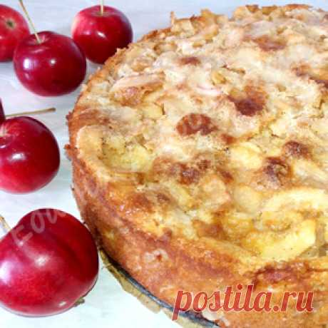 The most Apple pie. Easy and unusually tasty! the recipe with a photo