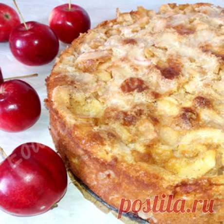 Самый Яблочный пирог. Легкий и необыкновенно вкусный! рецепт с фото