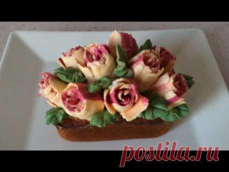 La tobera De Tyulpan Roza Keks Sekret Tropikanki \/ Russian piping tips Rose Cake