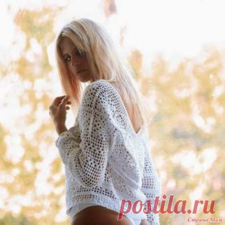 . Andi Bagus jumper Hello stranamamochka! again I to you from this talented Andi Bagus. Saw a jumper and fell in love Can to someone also it will be pleasant? to me in white option most of all, it is direct