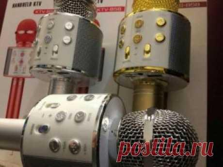 Беспроводной караоке микрофон WS-858 от компании Inside Galaxy купить в городе Пятигорск