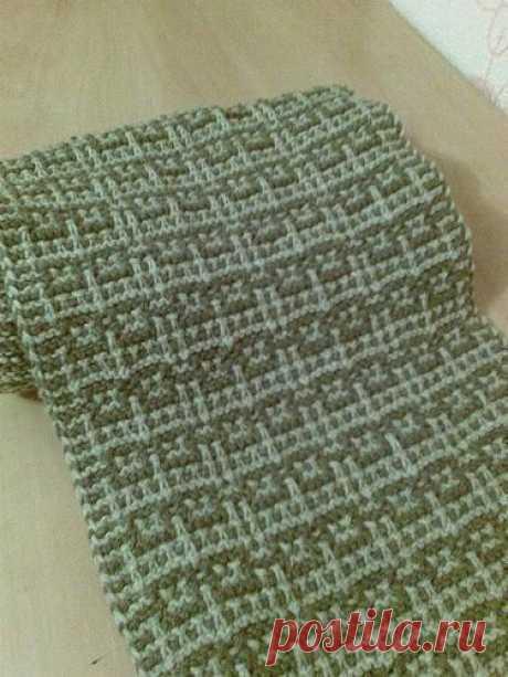 Стильный мужской шарфик