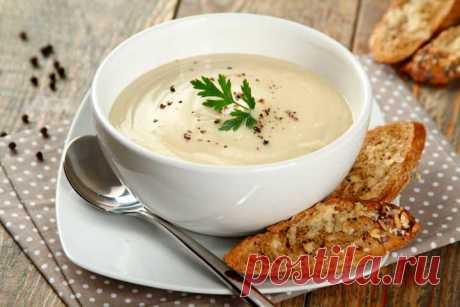 Крем-суп из цветной капусты с гренками – пошаговый рецепт с фото.