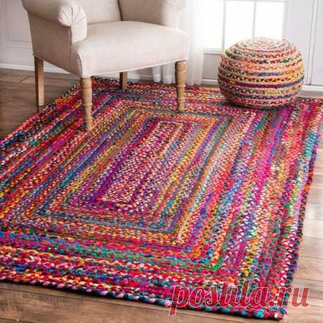 Из чего сделать коврик своими руками: подборка идей с фото