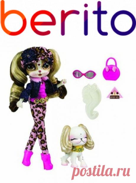 Кукла Пинки Купер серии Путешествие в Беверли Хилс с питомцем The Bridge  для девочки 4002239, купить за 4 805 руб. в интернет-магазине Berito