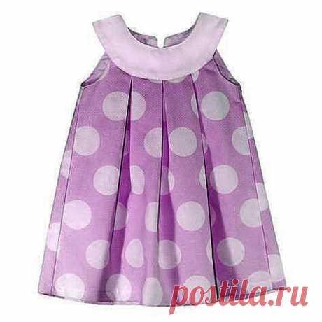 Выкройка детского платья на возраст от 1 года до 12 лет (Шитье и крой) – Журнал Вдохновение Рукодельницы
