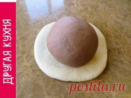 Шоколадное на Белом / Супер слоеные булочки с орехами!