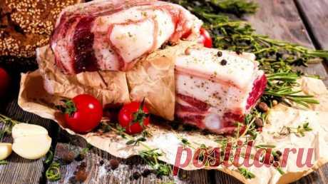 Как приготовить обалденное сало в рассоле 🚩 Кулинарные рецепты