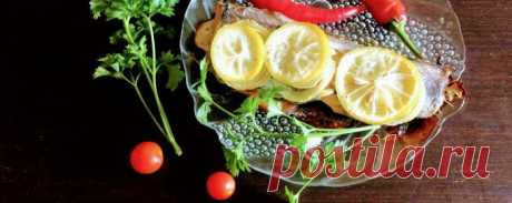 Хек в фольге в духовке - Диетический рецепт ПП с фото и видео - Калорийность БЖУ