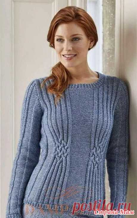 . Selma jumper - Knitting - the Country of Mothers